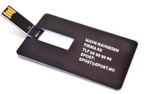 Bilde av USB Visittkort med trykk
